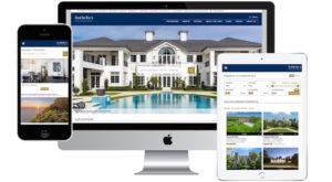 real estate marketing website design